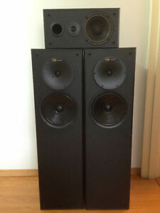 Nuance Star 3S Speaker Tower and Nuance Advantage 1C Center