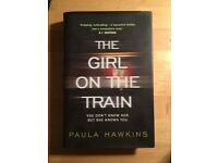 SIGNED The Girl On The Train Paula Hawkins first edition first print
