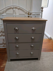 Bedroom furniture drawers and bedside tables