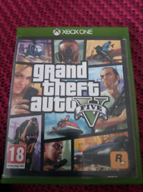 Xbox game grand theft auto 5