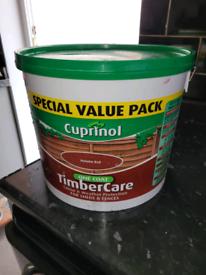 Cuprinol Timber Care 12.5 L unused