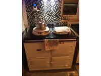 Aga electric 13amp superb condition white