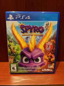 *Spyro Reignited Trilogy - PS4*