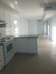 Newly renovated 2 BD + Den with Balcony