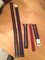 Zipper Replacements , fixing zippers , repairing Zippers