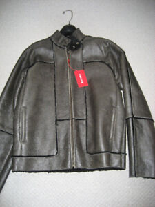*REDUCED*.  New Ultra Warm Leather Jacket