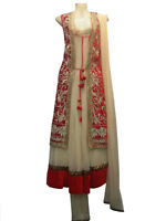 INDIAN CLOTHING LONG SUITS ON SALE. WEDDING/PARTY WEAR