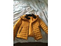 Yellow Barber jacket for sale