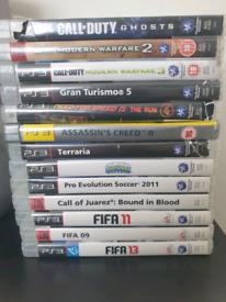 Playstation 3 games ( 18 games )