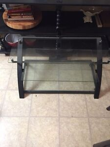 Moving Sale!!! Glass TV stand
