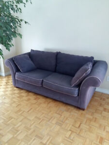 sofa and love seat for sale 350$ negotiable