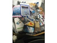 Job lot of mobile phone cases Samsung iPhone iPad