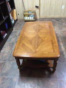 Wooden Coffee Table - $40