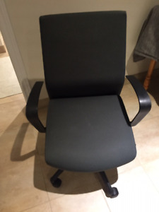 Like new clothe office chairs -grey