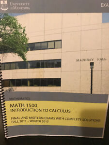 MATH 1500 Exams and Solutions