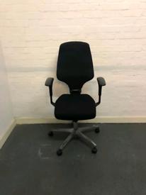 Free delivery Giroflex G64 Ergonomic operator office chair Black