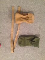 Military pouches, great for airsoft or other uses