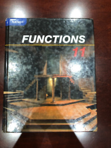 Functions Grade 11 Hardcover Textbook