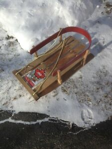 ANTIQUE 2 BABY SLEDS/ SLEIGH/ TOBOGGANS//TOYS London Ontario image 3