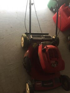 Lawn Mower and Snow Blower