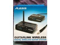 Wireless guitar system Alesis Guitarlink