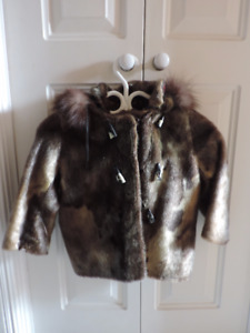 Manteau en loup marin pour enfant