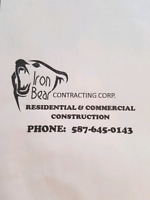 Carpentry Services By Iron Bear Contracting Corp.587-645-0143