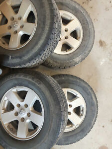 "REDUCED PRICE - 16"" Tires and Rims"