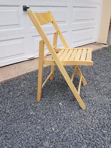 Folding Wooden Chair