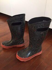 Bogs 12 -bottes de pluie garçon - rain boots boy