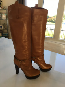 Brand New, Never Worn Guess by Marciano Leather Boots