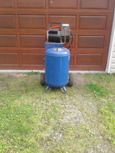 Air compressor with air tools