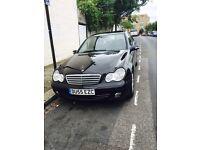 Mercedes Benz automatic black c class C 180,1.8,55 plate,HPI Clear bargain