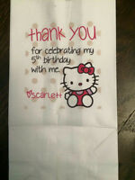 Personalized Popcorn / Candy Bags