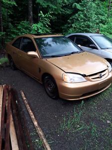 Honda civic si 550$