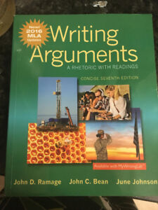 Writing Arguments(A Rhetoric with readings)  7th edition