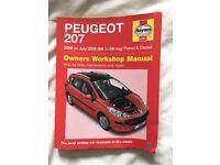 Peugeot 207 Haynes Manual