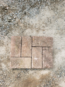 Used interlock patio pavers - approx 400 sq ft