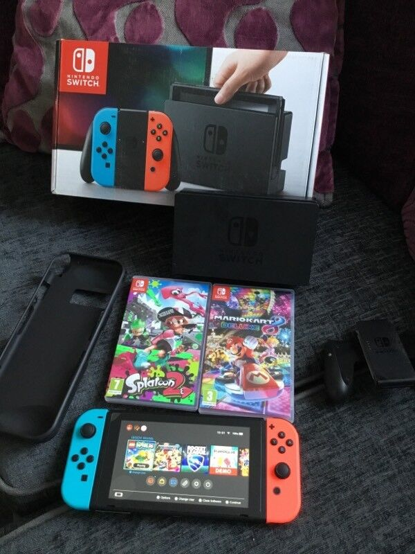 Nintendo Switch 4 games
