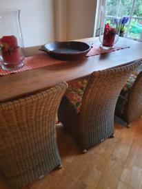 French farm house table