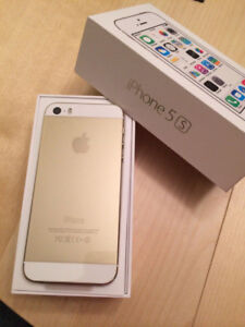 16GB-IPHONE 5s-GOLD-UNLOCKED-LIKE NEW-(FIRM PRICE-$165)