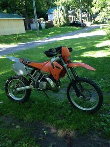 KTM EXC 380 2temps