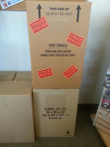 *** 99 CENT BOXES!!! 50% OFF MOVING AND PACKING SUPPLIES!!! *** Kitchener / Waterloo Kitchener Area image 9