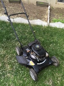 4.5 hp poulin side discharge mower