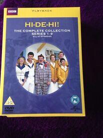 Hi-De-Hi dvd boxset complete series 1-9