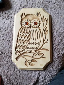 Wall Owl. Artcraft Product Co.
