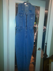 WOMEN'S DENIM JUMPSUIT NEW WITH TAGS ON