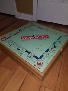 All-in-one Game Set: Monopoly, Clue, Chess + More