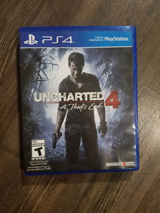 Uncharted 4 Ps4 like new