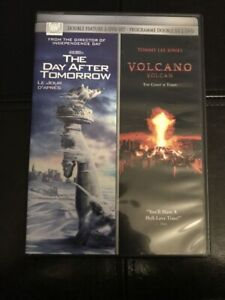 The Day After Tomorrow & Volcano Movies (DVD)